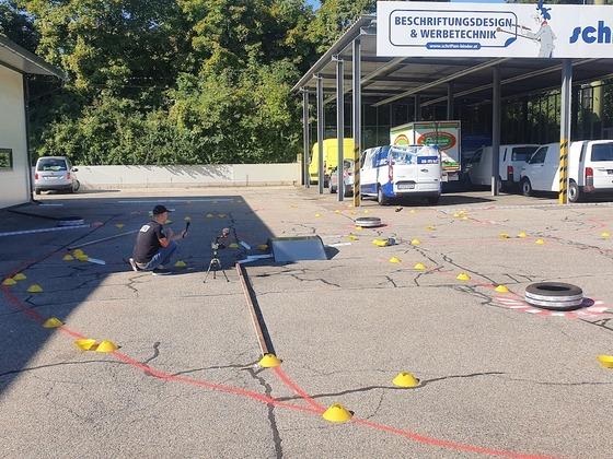 Rally/RXA, Race of Champions in Graz - Schriften Binder Rally Masters